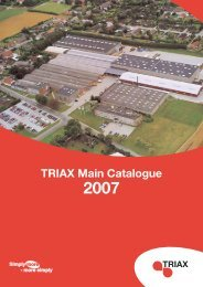 TRIAX Main Catalogue