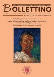 Maggio 2007 (pdf - 606 KB) - Ordine Provinciale dei Medici ...