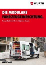 Die MoDulare Fahrzeugeinrichtung. - Würth