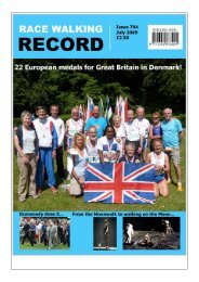 Issue 794 - July 2009 - Race Walk UK