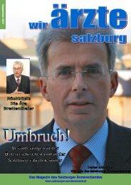 Das Magazin des Salzburger Ärzteverbandes