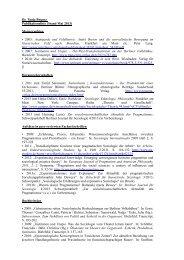 Dr. Tanja Bogusz Publikationsliste (Stand Mai 2013) Monographien ...
