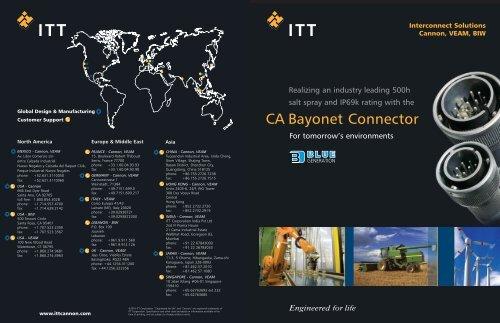 CA Bayonet Connector