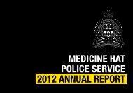 2012 MHPS Annual Report - Medicine Hat Police Service