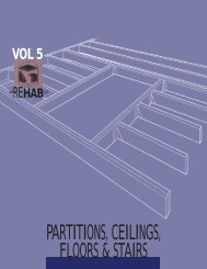 Partitions, Ceilings, Floors & Stairs - ToolBase Services