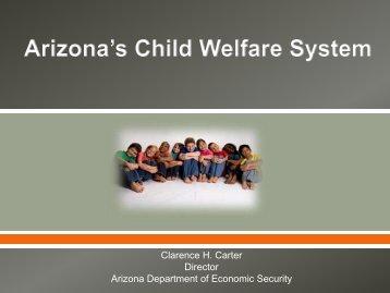Arizona's Child Welfare System - Arizona Department of Economic ...