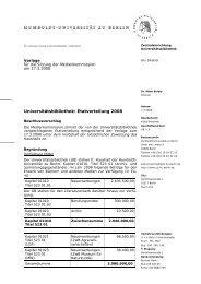 Beschlussvorschlag - Medienkommission - Humboldt-Universität zu ...