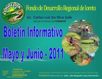 Lic. Carlos Luis Da Silva Solís - Gobierno Regional de Loreto