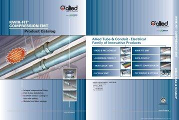 KWIK-FIT® COMPRESSION EMT Product Catalog