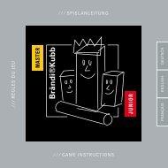 game instructions ⁄ ⁄ ⁄ spielanleitung ⁄ ⁄ ⁄ r è glesdu je u - Jugglux