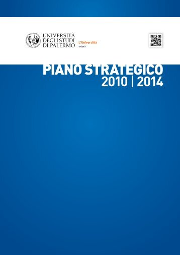 109. Piano_strategico - Università di Palermo