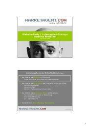Website-Tests / Interception-Surveys Business ... - Marketagent.com