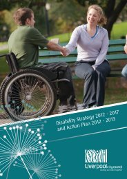 Disability Strategy 2012 - Liverpool City Council - NSW Government