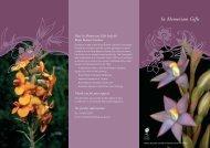 In Memoriam gift - Royal Botanic Gardens Melbourne