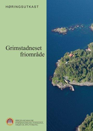Grimstadneset, høringsutkast, revidert 29.april ... - Bergen kommune