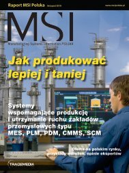 mes, scada, hmi - MSI Polska