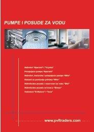 Pumpe i posude za vodu - PVF Traders