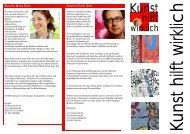 Flyer Kunst hilft wirklich - Künstler / Freizeit - HAZ