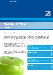 Märkte im Visier - Sevenone Media