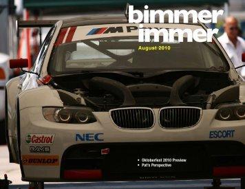 August 2010 - Badger Bimmers