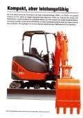 Raupenbagger Hitachi ZX40 U - BauRent AG Ost - Page 2