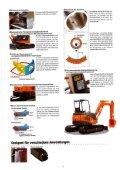 Raupenbagger Hitachi ZX40 U - BauRent AG Ost - Page 3