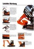 Raupenbagger Hitachi ZX40 U - BauRent AG Ost - Page 6
