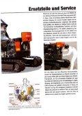 Raupenbagger Hitachi ZX40 U - BauRent AG Ost - Page 7