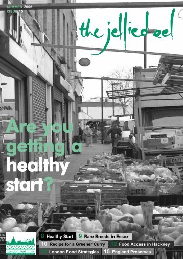 Are you getting a healthy start? - Sustain