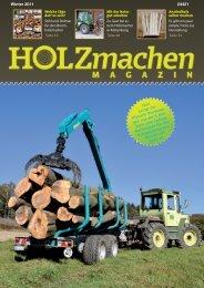 Zeitschrift HOLZmachen - Pfanzelt Maschinenbau
