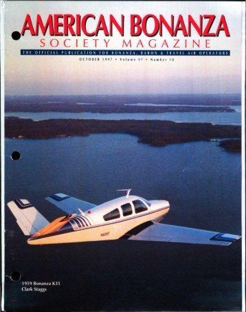 October 1997 - American Bonanza Society