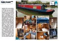 Narrowboat SANdPiPER - Rugby Boat Sales