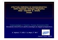 Unità Funzionale Senologia Diagnostica ASL8 -Ospedale S. Donato ...
