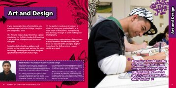 Art and Design - Leicester College
