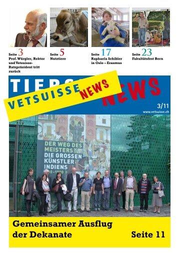 VetsuisseNEWS 3/11 - Vetsuisse-Fakultät - Universität Zürich