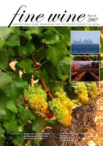 1 - Fine wine magazine