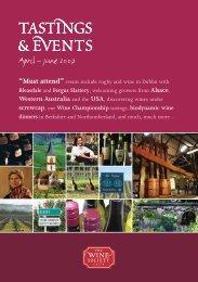 April – June 2007 - The Wine Society