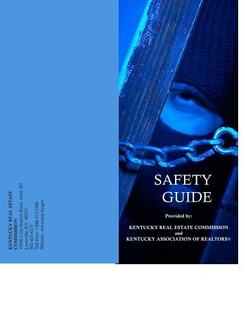 safety guide brochure - Kentucky Association of REALTORS