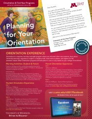 Planning for Your Orientation Newsletter - Orientation and First-Year ...