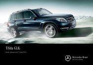Třída GLK facelift - Mercedes-Benz
