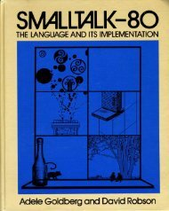 Smalltalk-80: the language and its implementation - Free