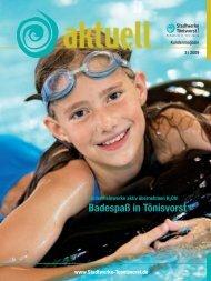 Ausgabe Herbst 2009 - NEW - Niederrhein Energie und Wasser ...
