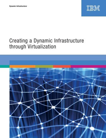 Creating a Dynamic Infrastructure through Virtualization