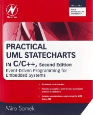 Practical UML Statecharts in C/C++, Second Edition: Event-Driven ...