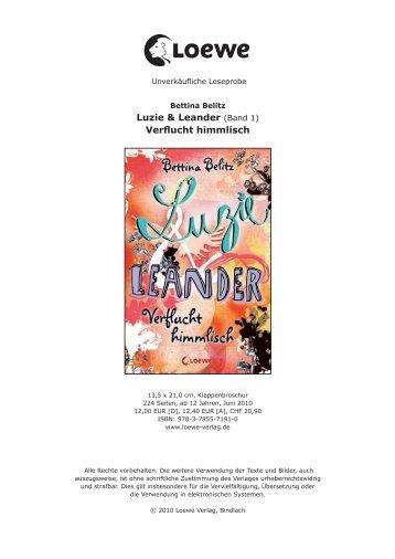 Luzie & Leander (Band 1) Verflucht himmlisch