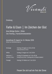 Anna Melliger-Redivo | Cerc Thierling - Vivendi Lebens-Art