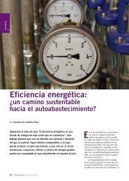 Eficiencia energética:¿un camino sustentable ... - Física re-Creativa