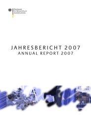 Jahresbericht 2007 - Bundesamt für Wirtschaft und Ausfuhrkontrolle