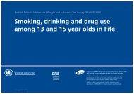 Fife - Drug Misuse Information Scotland - Information Services Division
