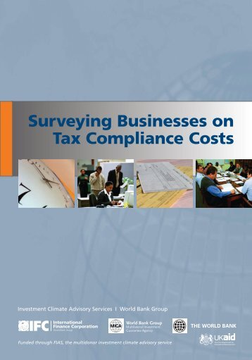 Surveying Businesses on Tax Compliance Costs - Investment Climate